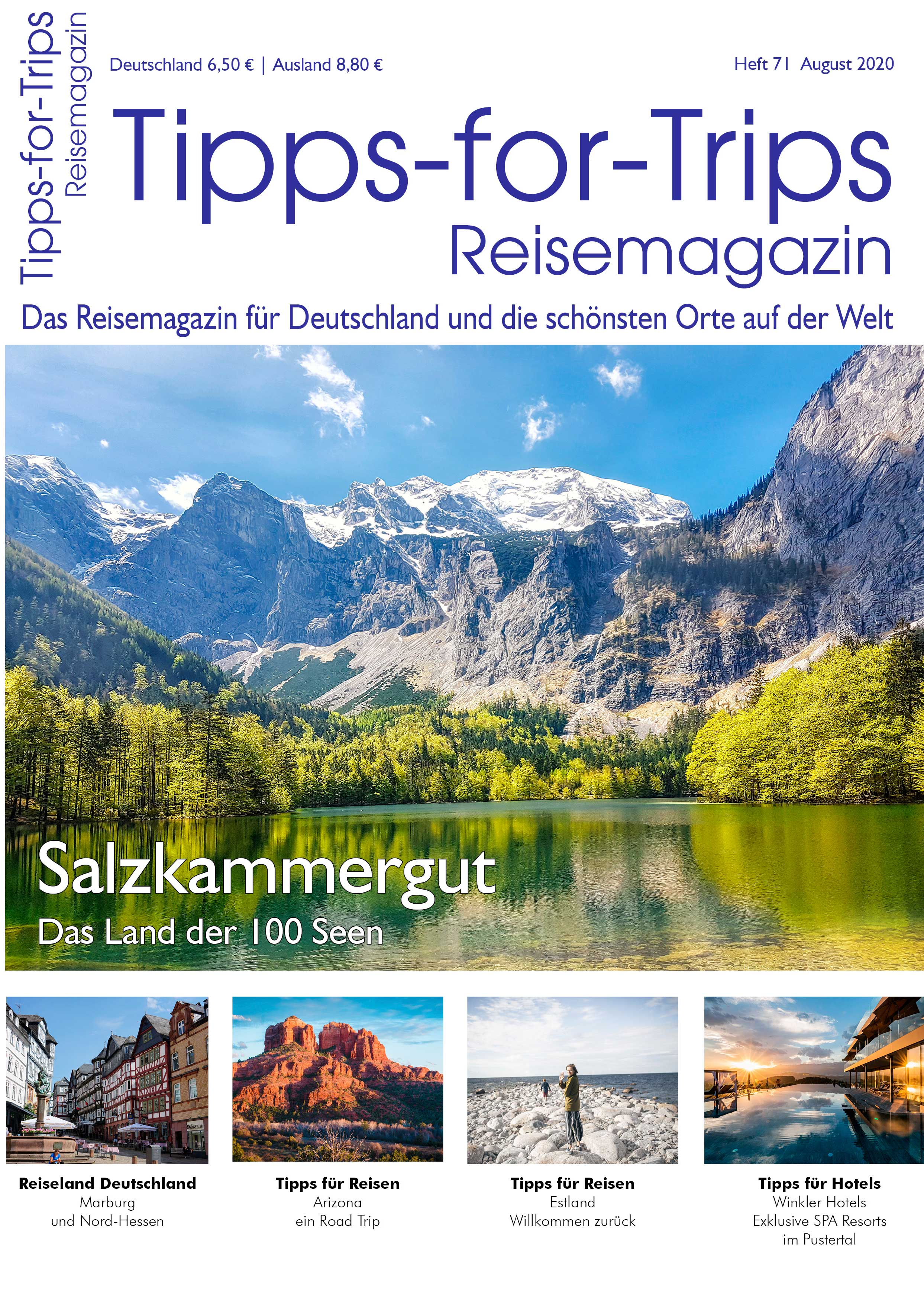 Tipps-for-Trips Ausgabe August 2020