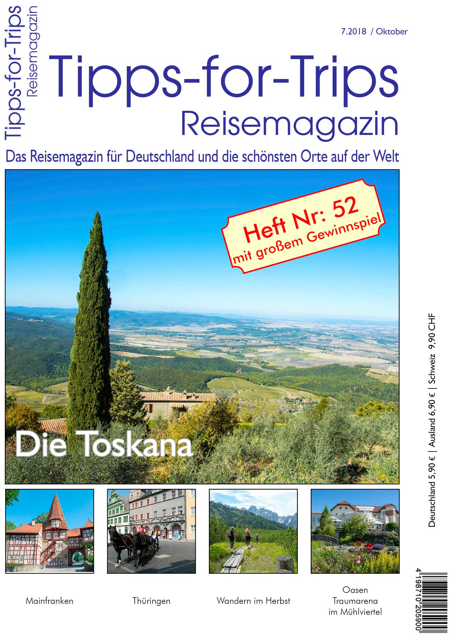 Tipps-for-Trips Heft 7.2018