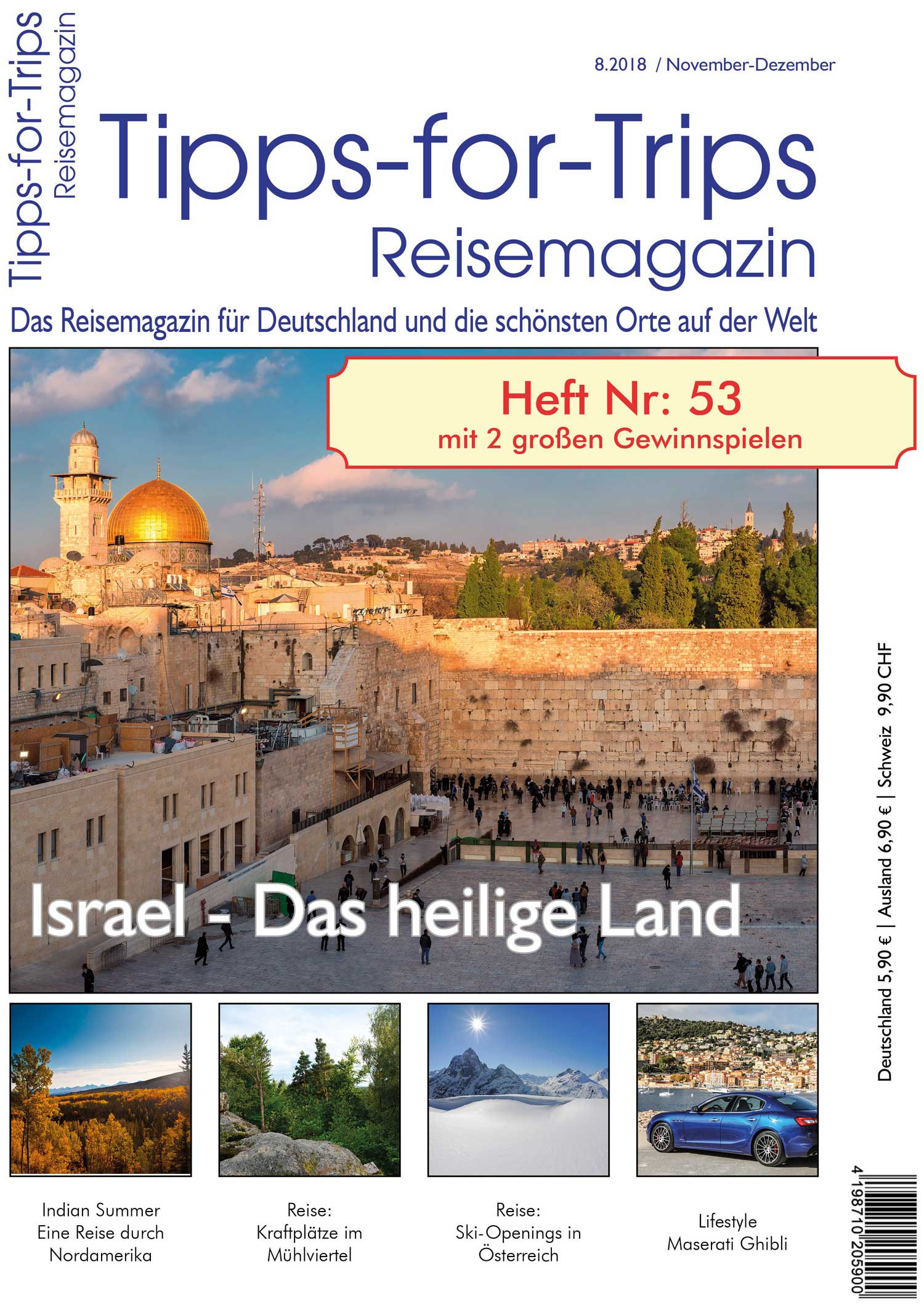 Tipps-for-Trips Heft 8-2018
